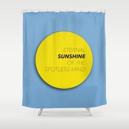 Eternal Sunshine of the Spotless Mind Shower Curtain