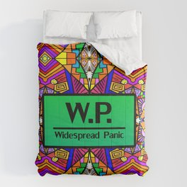 WP - Widespread Panic - Psychedelic Pattern 1 Comforters