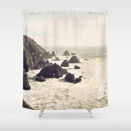 bodega bay. Shower Curtain