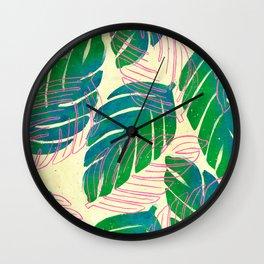 Paradiso II Wall Clock