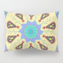 Monster Mandala Pillow Sham