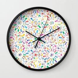 Flower's petals Wall Clock