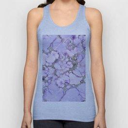 Lavender Marble Unisex Tank Top