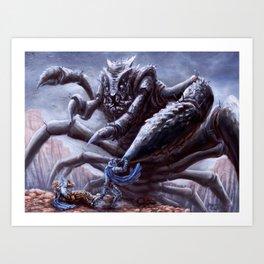 Chasmfiend Art Print