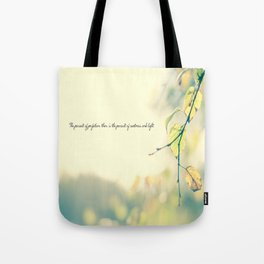 The Pursuit of Perfection Tote Bag