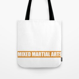 MMA Martial Arts Siluette Boxing Karate Gift Tote Bag