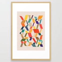 The X Framed Art Print