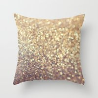 cafe Throw Pillows featuring Cafe Latte by Lisa Argyropoulos