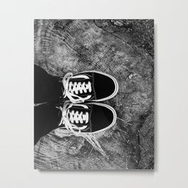 ShoeStump Metal Print