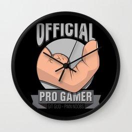 Pro Gamer Wall Clock