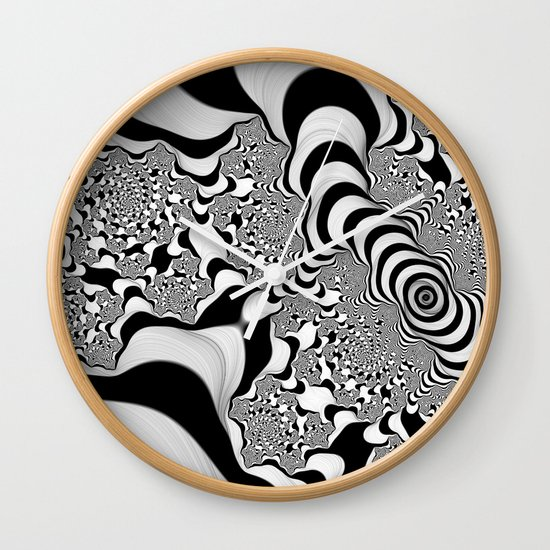 Into Infinity Wall Clock