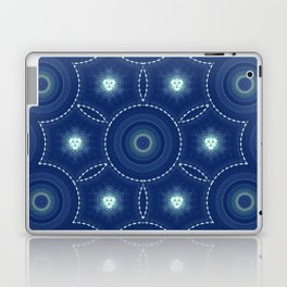 Dark Blue Winter Laptop & iPad Skin