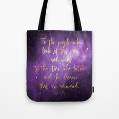 To the Stars - ACOMAF Tote Bag