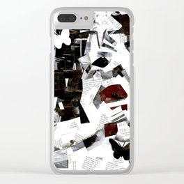 Falling Apart Clear iPhone Case