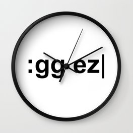 :gg ez Wall Clock
