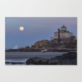 Surf's Over Canvas Print