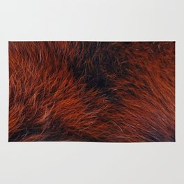 Genghis the Red Panda Rug