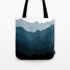 Mists No. 6 - Ombre Blue Ridge Mountains Art Print  Tote Bag