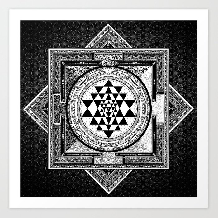 Image result for SRI YANTRA MANDALA