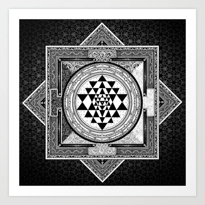 Image result for SRI YANTRA MANDALA