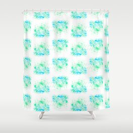 Splashed Ounce by Fernanda Quilici Shower Curtain