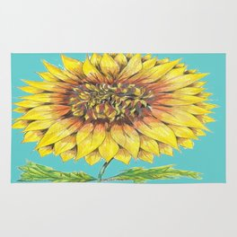 Sunflower Magic Rug