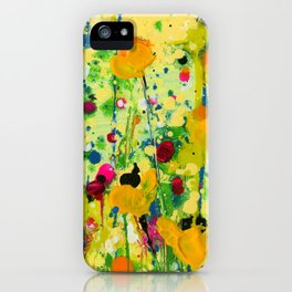 Deep In The meadow by Kathy Morton Stanion iPhone Case