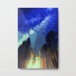 Fires and Stars Metal Print