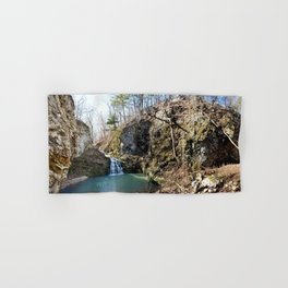 Alone in Secret Hollow with the Caves, Cascades, and Critters, No. 20 of 21 Hand & Bath Towel