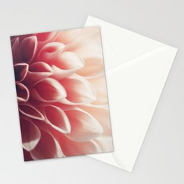 Pink Dahlia #2 Stationery Cards