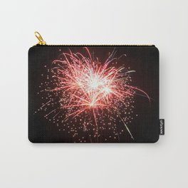 Red White and Blue Sparks Carry-All Pouch