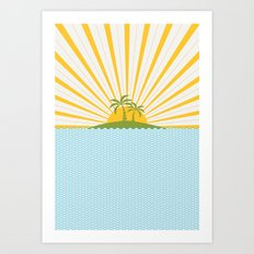 Summer Sun Art Print