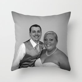 Just Married Special Order Throw Pillow