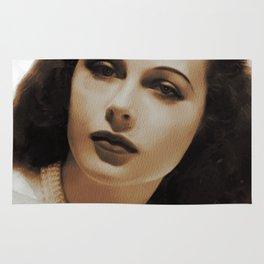 Hedy Lamarr, Hollywood Legends Rug