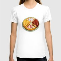 macaroons T-shirts featuring To each his own by Chicca Besso