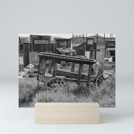 Old Virginia City Mining Town, Nevada Mini Art Print