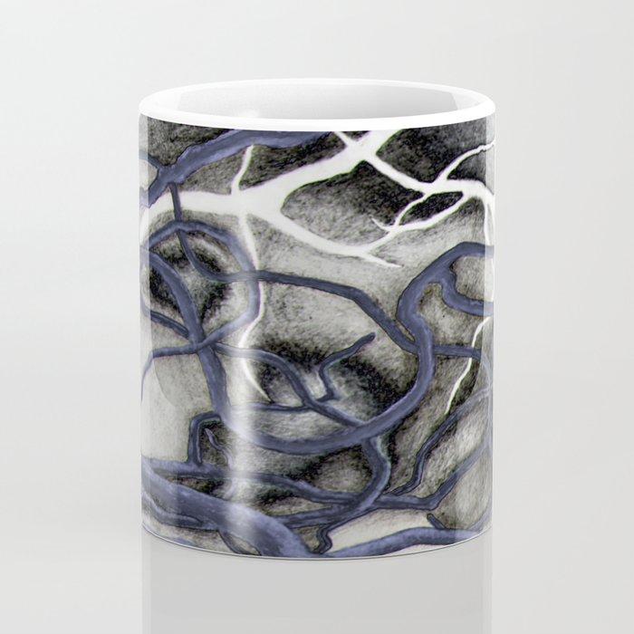 Tangled in Blue Coffee Mug
