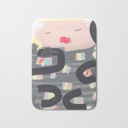 Be a doll - Vindi Vindaloo Design Bath Mat