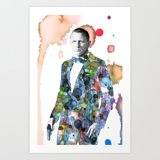 Bond, James Bond Art Print