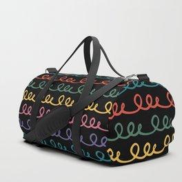 Colorful loops Duffle Bag
