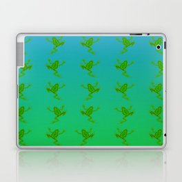 When the frogs goes marching in ... Laptop & iPad Skin
