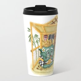 Green Bali Travel Mug