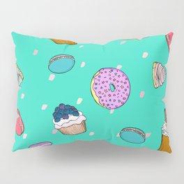 Sweet desserts pattern Pillow Sham