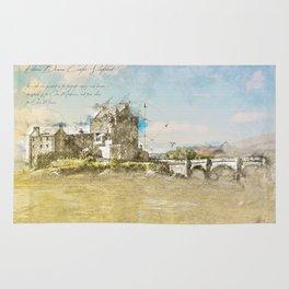 Eilean Donan Castle, Scotland Rug