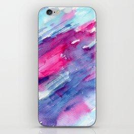 Melting colors || watercolors iPhone Skin