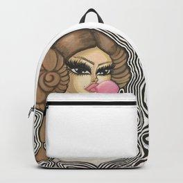 Leia (b&w) Backpack