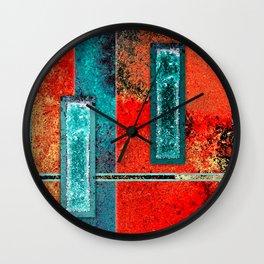 Balance - Abstract Digital Painting Wall Clock