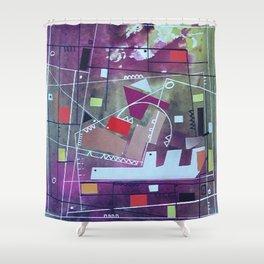Universo Geometrico 1 Shower Curtain