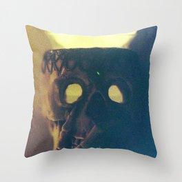 Skullflower 2 Throw Pillow