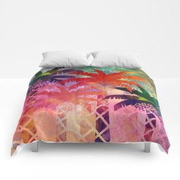 Date Palm Oasis Comforters
